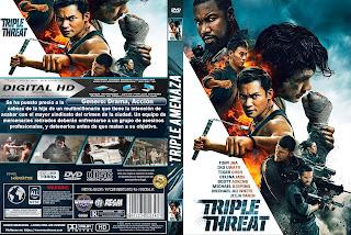 TRIPLE AMENAZA – TRIPLE THREAT – 2019 [COVER DVD]