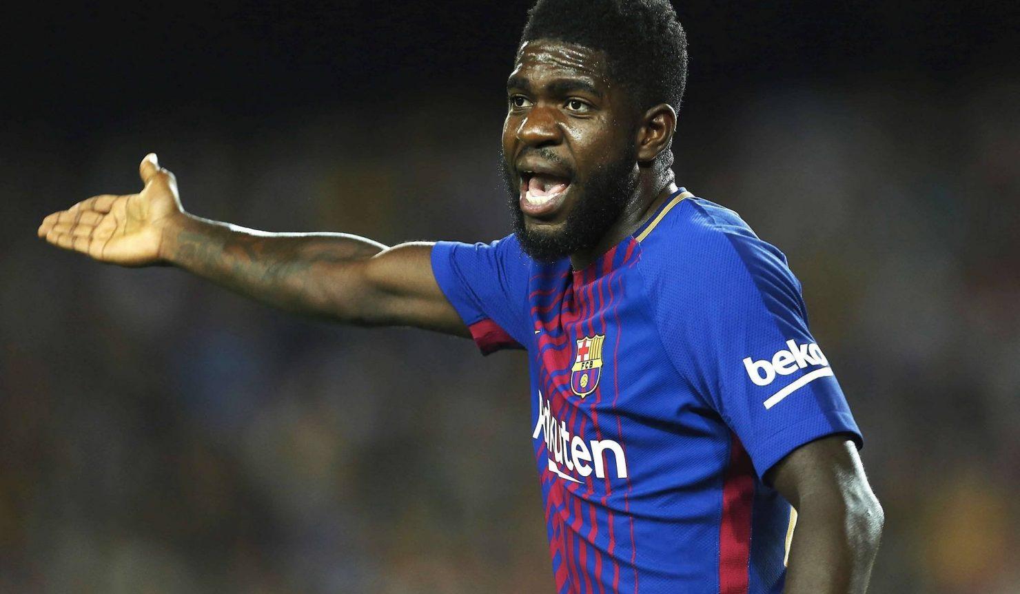 برشلونة يعلن تعرض مدافعه أومتيتي للأصابة وغيابه في المباريات القادمة