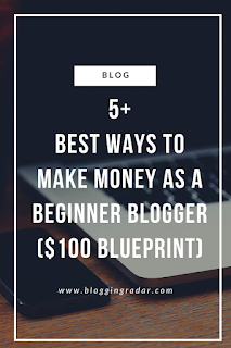 5+ Best Ways to Make Money as a Beginner Blogger (Proven $100 Blueprint)