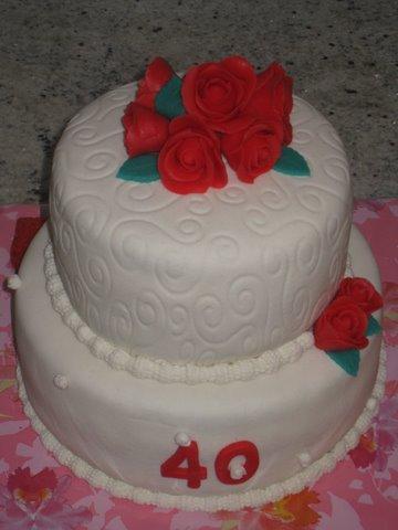 taart getrouwd Taa Da: 40 jaar getrouwd taart taart getrouwd