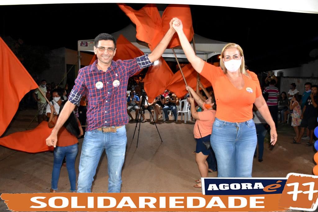 """Mais de 500 pessoas participaram da reunião da coligação """"Todos Por Rosário"""" na Cohab Santa Izabel"""