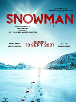 Snowman Punjabi Movie star cast - Check out the full cast and crew of Punjabi movie Snowman 2021 wiki, Snowman story, release date, Snowman Actress name wikipedia, poster, trailer, Photos, Wallapper