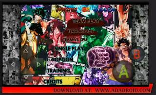 Download Jump Ultimate Stars Mugen Apk Lite