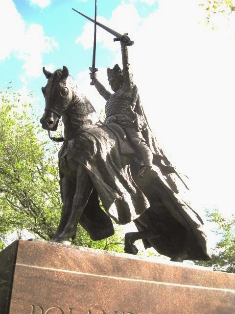 Daytonian In Manhattan The King Jagiello Statue