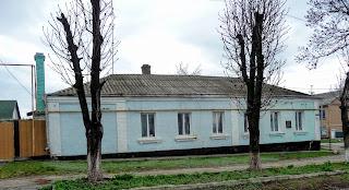 Бобринец. Ул. Николаевская, 55. Дом, в котором жил М. Л. Кропивницкий