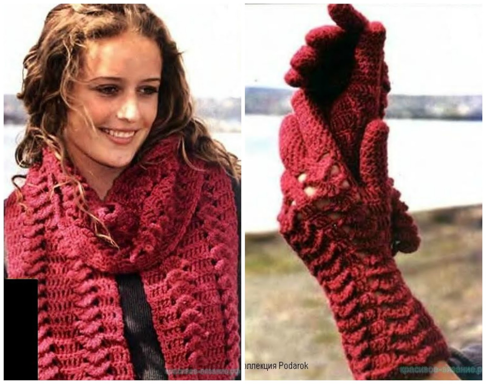 Russian Lace Crochet Scarf Diagram Leviton 3 Way Led Dimmer Switch Wiring Ergahandmade And Gloves 43 Diagrams Free