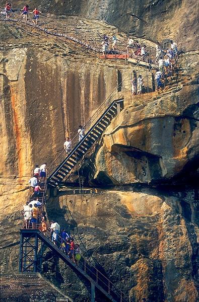 10 Best Adventure Holiday Destinations | Climbing the Rock, Sigiriya, Sri Lanka