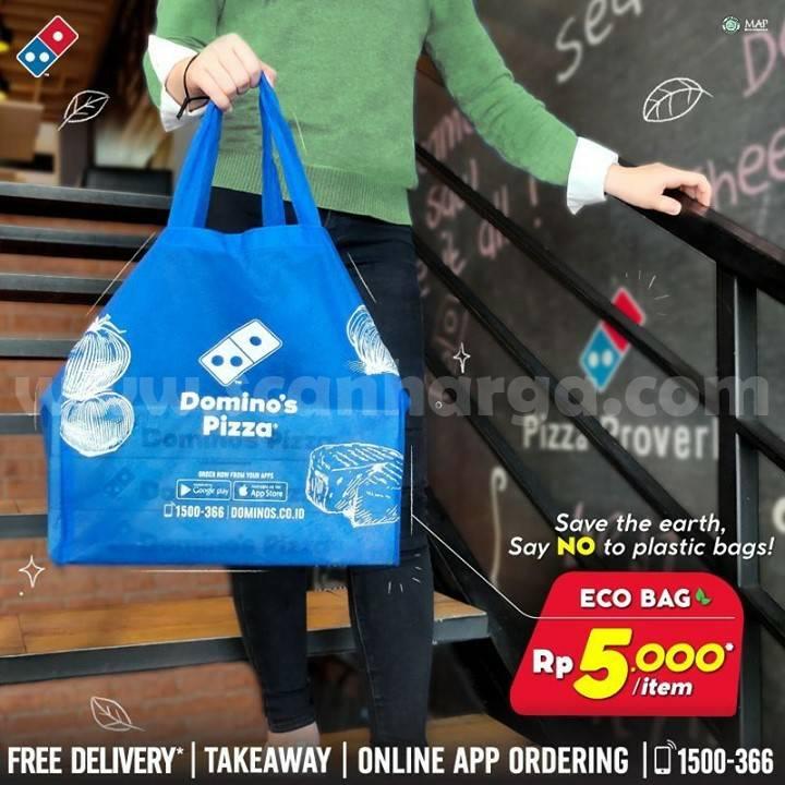 Eco Bag [Tas Belanja] Domino's Pizza only Rp 5.000 /item*