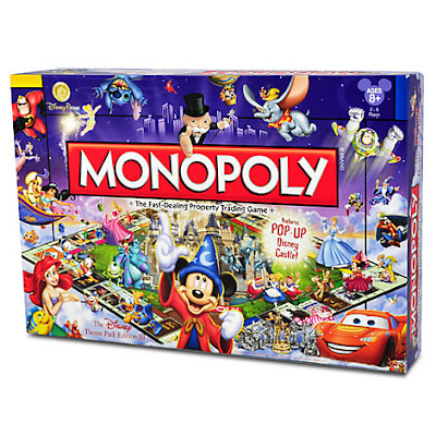 Disney Theme Park Edition Monopoly Game, Holiday Gift Guide for Disney Moms