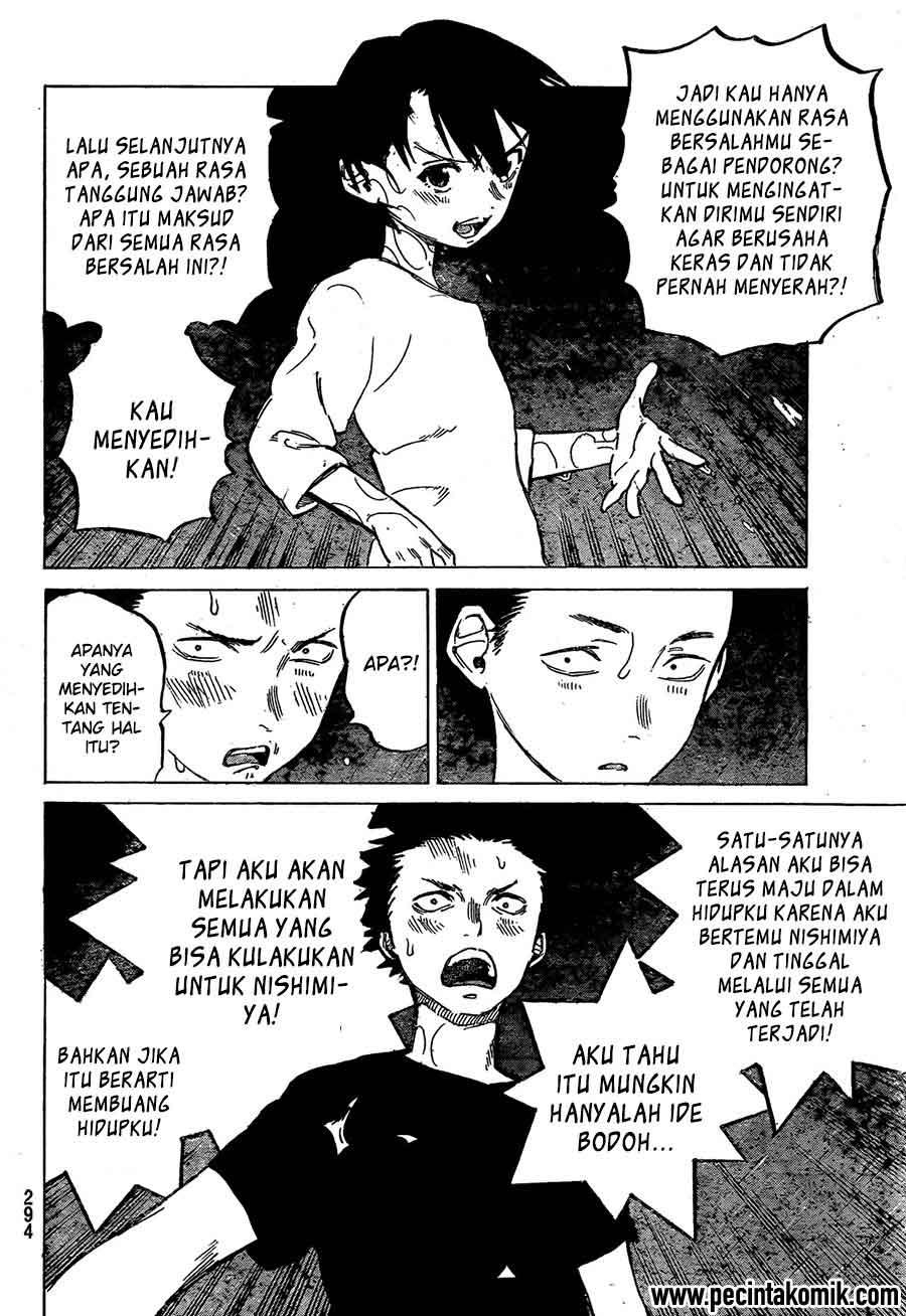 Koe no Katachi Chapter 13-7