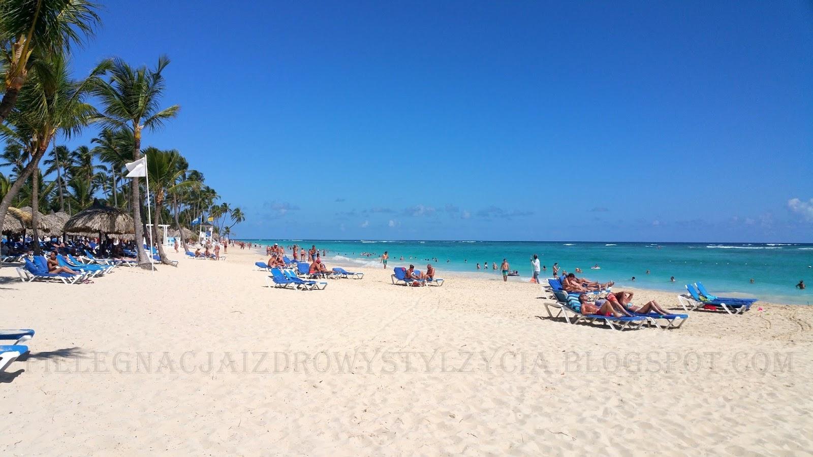 Rajska plaża Dominikana