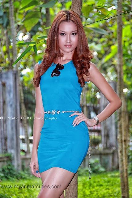 2013 Miss Myanmar Universe 3rd Runner Up- Hnin Yamone Oo