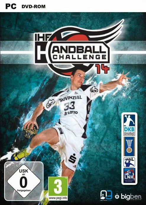 Cover Caratula IHF Handball Challenge 14 PC