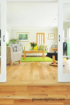 Living room. Home decor