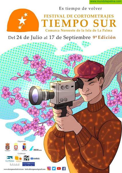 """El Festival de cortometrajes """"Tiempo Sur"""" presenta su cartel oficial"""