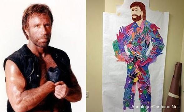 Chuck Norris comparado Jesucristo