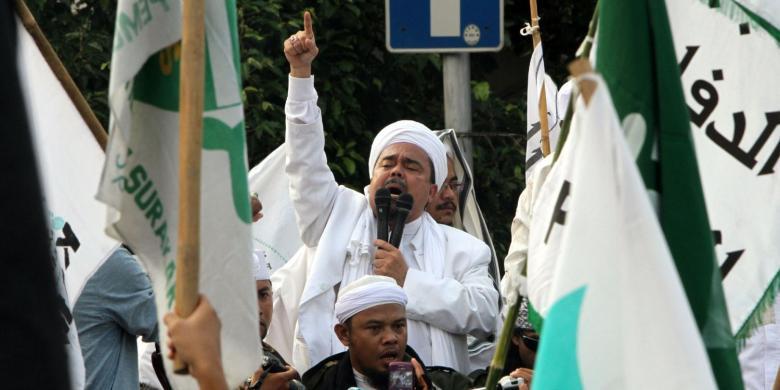 Habib Rizieq 'Ancam Rebut' Balai Kota Jika Polisi Tak Periksa Ahok