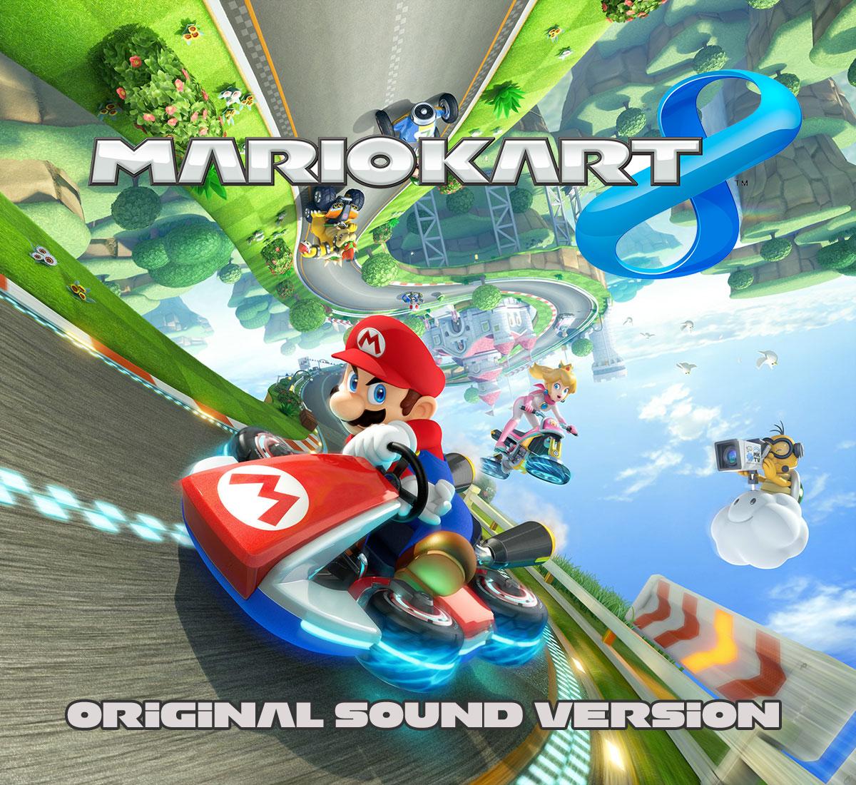 Anime and Games!: Mario Kart 8 Full OST!