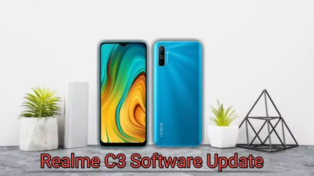 Realme C3 has received a new software update in India.