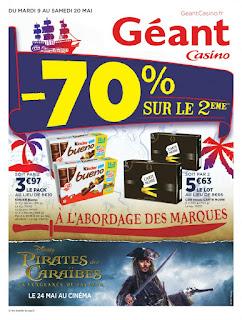 Catalogue Géant Casino 09 au 20 Mai 2017