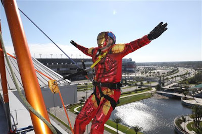 Over the Edge At ONE DAYTONA - #NASCAR