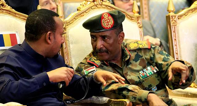 السودان، رئيس مجلس السيادة الانتقالي السوداني، عبد الفتاح البرهان، أثيوبيا ، حربوشة نيوز