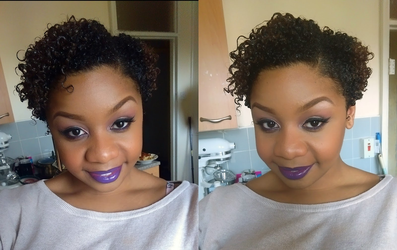 Pretty in Purple Make Up Look 2