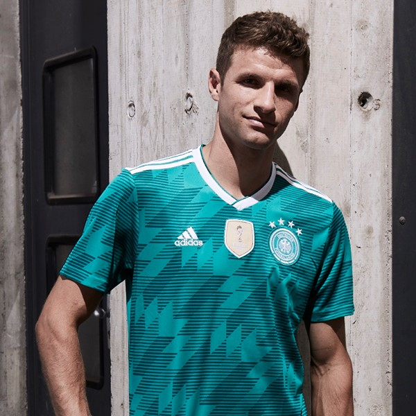 Germany 2018 World Cup Away Kit Released - Footy Headlines 71efe99cc