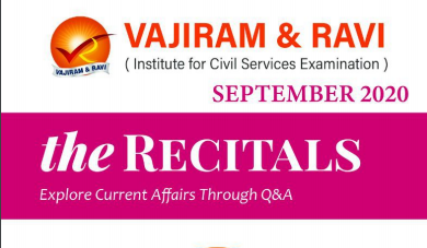 Vajiram & Ravi September 2020 The Recitals PDF