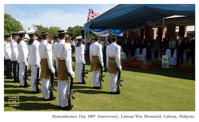 Malaysia: Remembrance Day in Labuan - Ramble and Wander