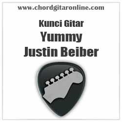 Chord Yummy Justin Beiber