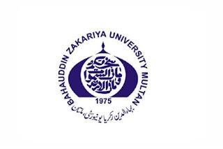 Bahauddin Zakariya University Multan BZU Jobs 2021