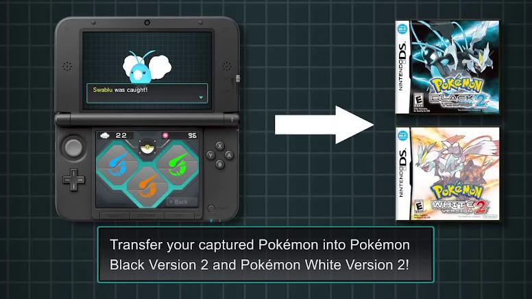 Pokémon Dream Radar Transferir Pokémon