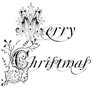 christmas word art greeting image sentiment commercial use