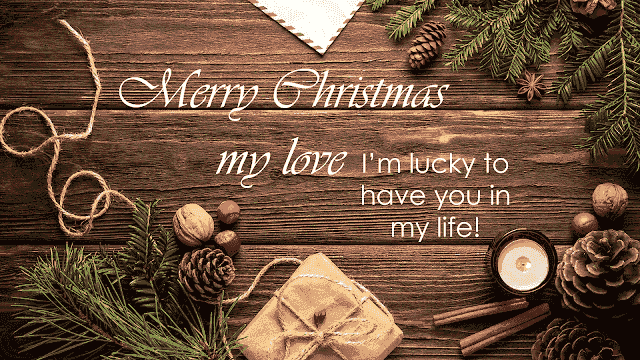 Christmas message for special friend