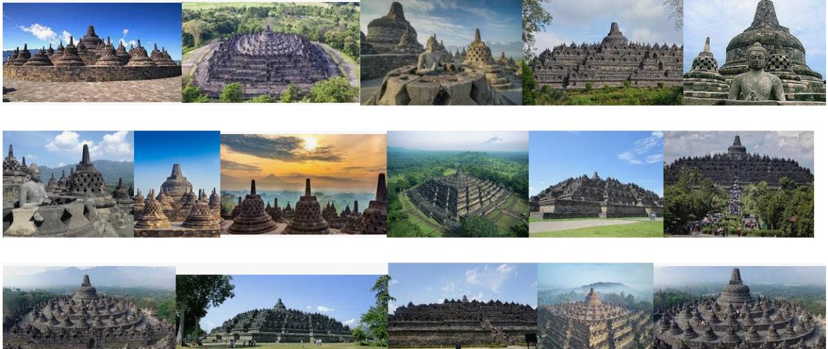 Koleksi Panorama Borobudur