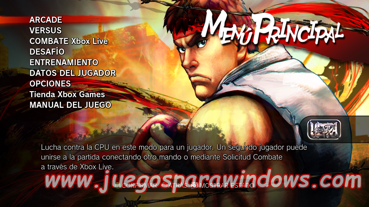 Ultra Street Fighter IV XBOX 360 ESPAÑOL