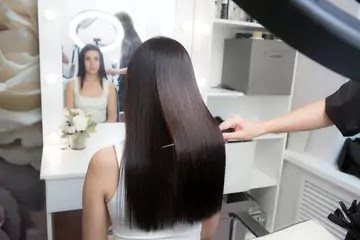 How to Get Shiny Hair