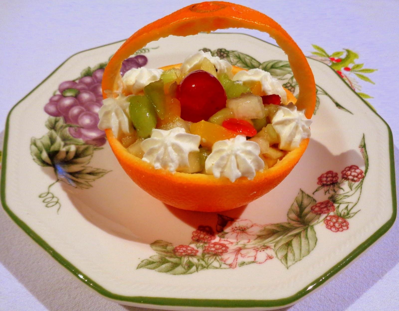 Recetas de mi madre y mias cestita de macedonia de frutas - Macedonia de frutas thermomix ...