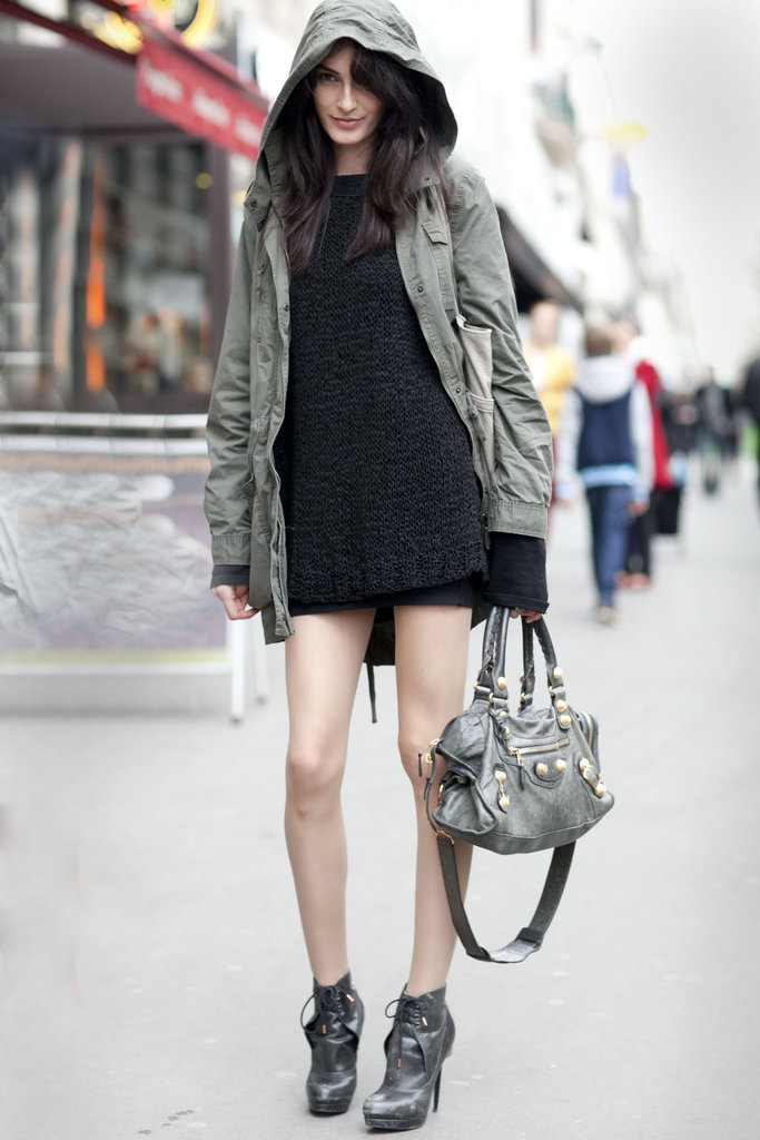 Paris Fashion Week Street Style Spring 2015: Paris: Paris Street Fashion