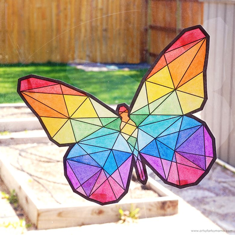 summer butterfly craft for kids