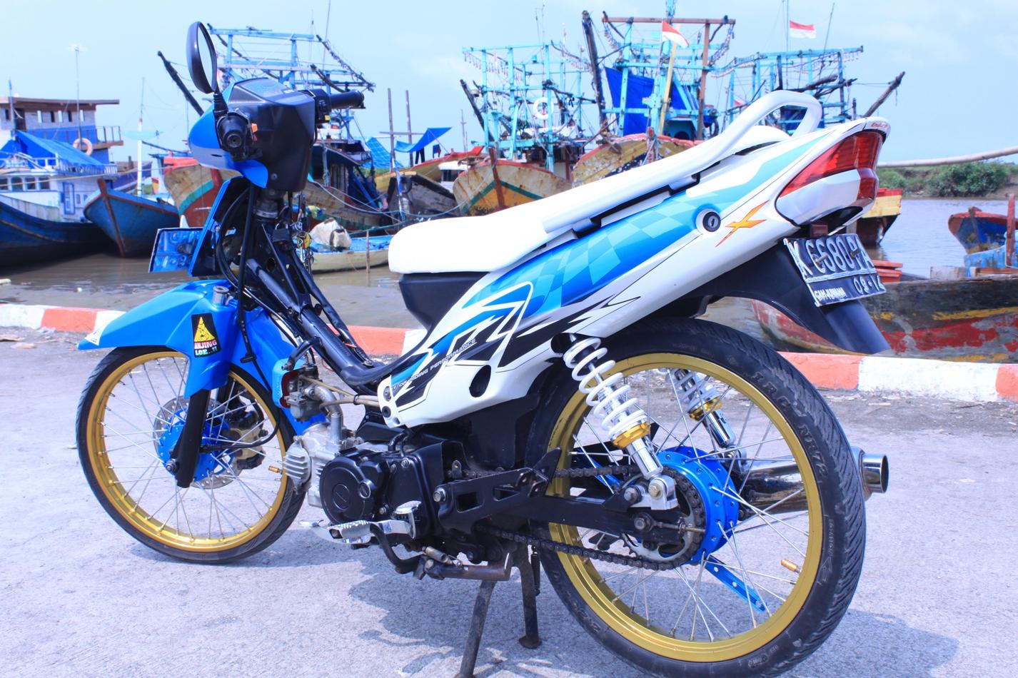 Modifikasi Motor Vega R