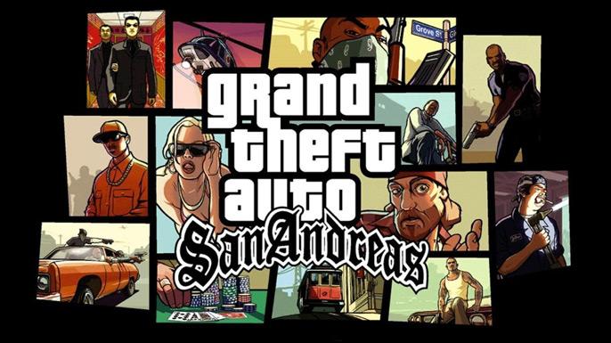 Todas as Senhas de GTA San Andreas para PS2