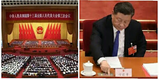 China's legislature endorses the proposal to impose a national security law in Hong Kong