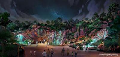 Fantasy Springs Tokyo Disneyland Night Concept Art