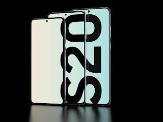 handphone samsung galaxy s20+ terbaru 2020