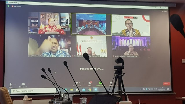 Mensekneg : Presiden Joko Widodo Dipastikan Hadir Pada Hari Pers Nasional 2021.