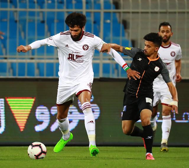 ملخص مباراه الشباب والفيصلي في الدوري السعودي 30-8-2019