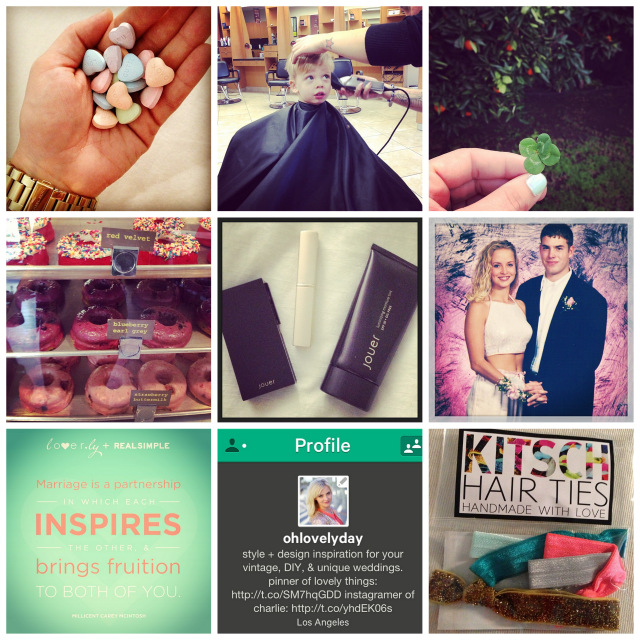 Oh Lovely Day's week in instagrams