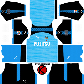 Kawasaki Frontale 川崎フロンターレ kits 2017 - Dream League Soccer
